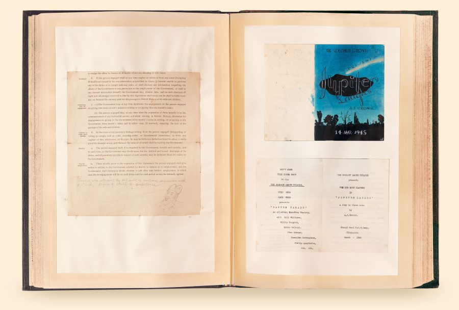 Pages 16 – 17 / 1945